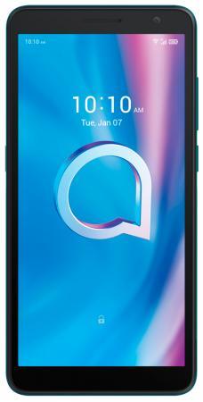 Смартфон Alcatel 5002D 1B 16Gb 2Gb зеленый моноблок 3G 4G 2Sim 5.5 720x1440 Android Go 8Mpix 802.11 b/g/n GPS GSM900/1800 GSM1900 TouchSc MP3 FM A-GPS microSD max32Gb смартфон alcatel 1b 5002d 2 16gb blue