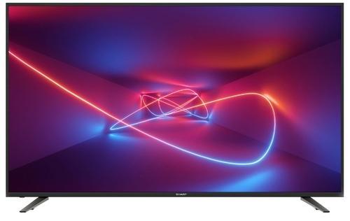 Купить Телевизор ЖК Sharp/ 70 , 4K UltraHD, DVB-S/S2/C/T2/T, HDR10, Linux, Smart TV, Harman Kardon 2.1, 3xHDMI, 2xUSB, черный