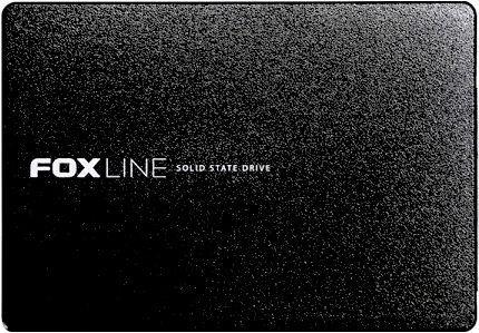 Foxline 480GB SSD 2.5 3D TLC,SM2258XT,plastic case