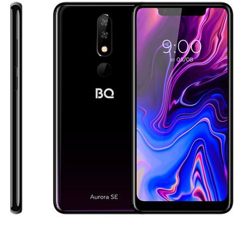 Смартфон BQ 5732L Aurora SE черный фиолетовый 5.86 32 Гб LTE Wi-Fi GPS 3G Bluetooth