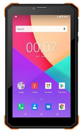 Планшет BQ BQ-7098G Armor Power 7 8Gb Black Wi-Fi Bluetooth 3G Android 7098G Print4 планшет bq 1081g black spreadtrum sc7731 1 3 ghz 1024mb 8gb 3g wi fi gps cam 10 0 1024x600 android