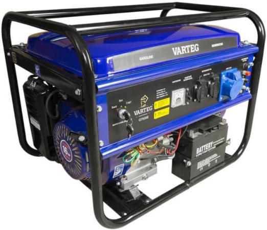Генератор FOXWELD Varteg G7500 E (5822) 7кВт 25л бензин