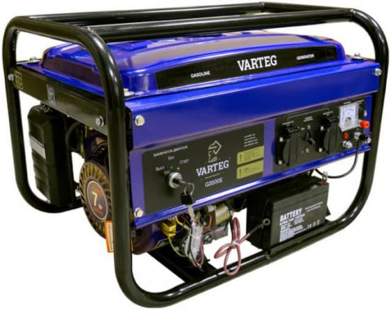 Генератор FOXWELD Varteg G3500 E (5820) 3кВт 15л бензин