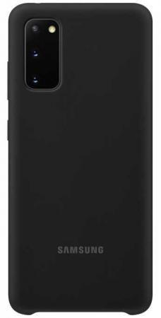 цена Чехол (клип-кейс) Samsung для Samsung Galaxy S20 Silicone Cover черный (EF-PG980TBEGRU) онлайн в 2017 году
