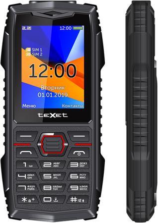 teXet TM-519R черный-красный Мобильный телефон мобильный телефон texet tm d430 черный