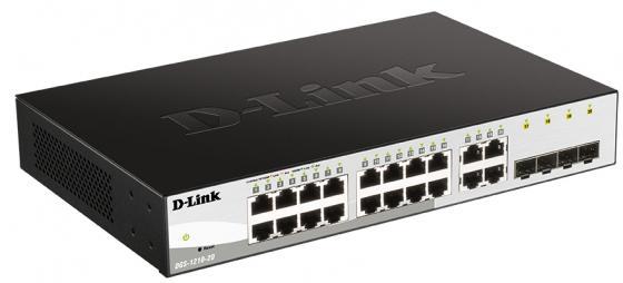 Фото - Коммутатор D-Link DGS-1210-20/FL DGS-1210-20/FL1A 20G управляемый d link dgs 1008d j3a