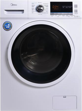 Комплект: стиральная машина Midea MWM6123 Crown Slim + пылесос Midea VCS43C4 цена и фото