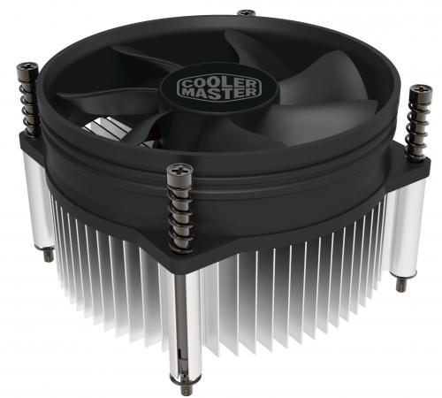 цена на Кулер CPU Cooler Master i50 (1150/1151/1155/1156, 77W, 28dB, 2000rpm, 92мм, 3pin) RTL