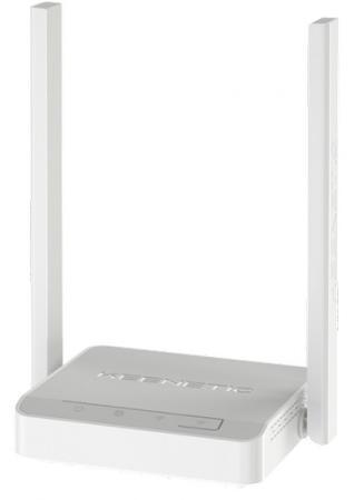 Беспроводной маршрутизатор Keenetic 4G (KN-1211) Mesh Wi-Fi-система 802.11bgn 300Mbps 2.4 ГГц 3xLAN USB серый