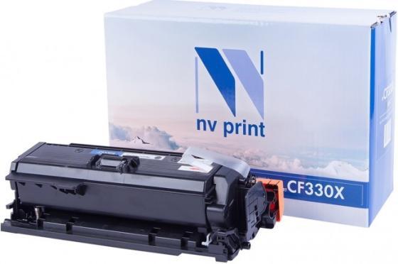 Фото - NV Print CF330X Тонер-картридж для HP Color LaserJet M651dn/ M651n/ M651xh (20500k) Black картридж nv print ce320a black для hp color laserjet pro cp1525