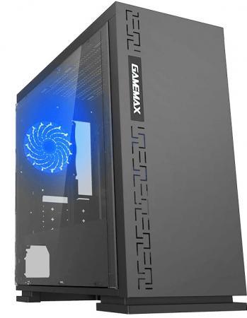 Корпус microATX GameMax H605-TR Без БП чёрный MFG.H605-TR компьютерный корпус gamemax h605 expedition white