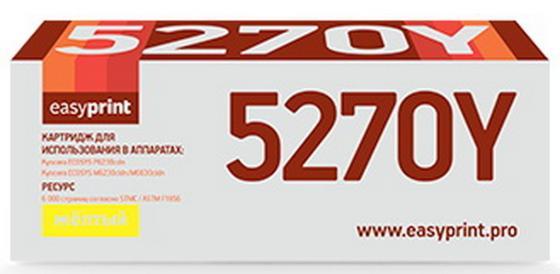 Фото - Easyprint TK-5270Y Тонер-картридж LK-5270Y для Kyocera EcoSys M6230cidn/P6230cdn/M6630cidn , Y, 6K тонер картридж integral tk 5270y для kyocera m6230cidn m6630cidn p6230cdn желтый 6000 страниц