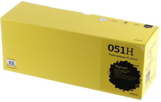 Фото - T2 Cartridge 051H Картридж TC-C051H для Canon i-SENSYS LBP162dw/MF264dw/MF267dw/MF269dw (4100стр.) черный, с чипом картридж t2 tc c051h совместимый