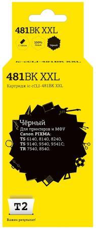 Фото - Картридж T2 IC-CCLI-481BK XXL для Canon PIXMA TS6140/704/8140/8240/9140/9540/9541C/TR7540/8540 4590стр Черный картридж t2 ic ccli 36c для canon pixma ip100 цветной