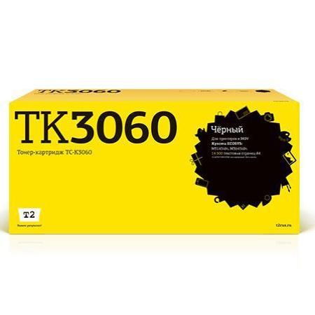 Фото - T2 TK-3060 Картридж TC-K3060 для Kyocera ECOSYS M3145idn/M3645idn (14500стр.) черный, с чипом t2 tk 1160 тонер картридж tc k1160 для kyocera p2040dn p2040dw 7200 стр с чипом