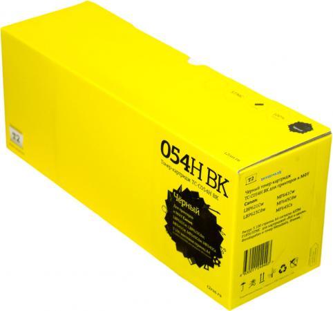 Фото - T2 Cartridge 054HBK Картридж TC-C054H BK для Canon i-Sensys LBP621Cw/LBP623Cdw/MF641Cw/MF643Cdw/MF645Cx (3100 стр.) черный, с чипом картридж t2 tc c054h m совместимый