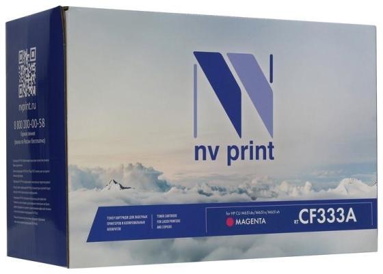 Фото - NV Print CF333A Тонер-картридж для HP Color LaserJet M651dn/ M651n/ M651xh (15000k) Magenta картридж hp laserjet 415a magenta w2033a