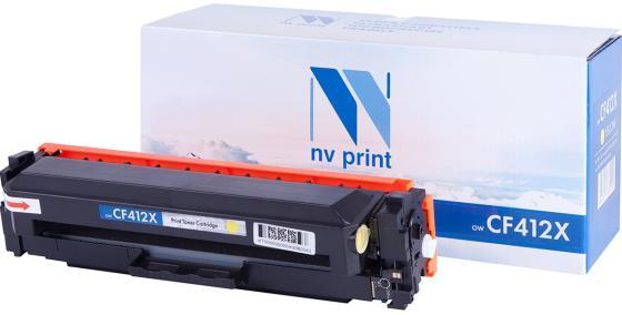 Фото - Картридж NV Print CF412X Картридж для HP Laser Jet Pro M377dw/M452nw/M452dn/M477fdn/M477fdw/M477fnw, Yellow, 5000 к тонер картридж static control 002 01 sf410x cf410x черный 6500стр для hp hp clj pro m452dn m452dw m477fdn m477fdw