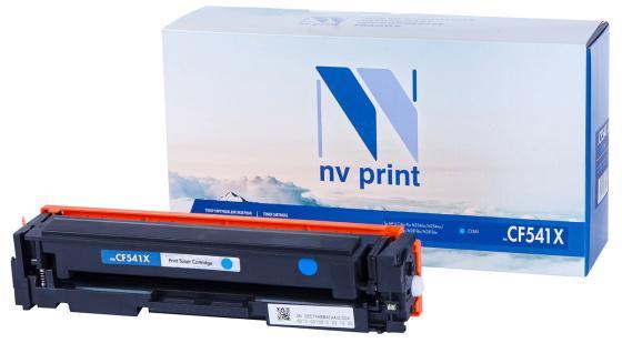 Фото - NV Print CF541X Картридж для HP CLJ Pro M254nw/dw/M280nw/M281fdn/M281fdw, C, 2,5K картридж hp cf542a 203a yellow для color lj pro m254dw m254nw m280nw m281fdn m281fdw 1300стр