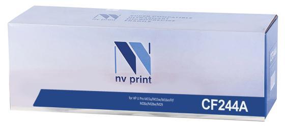 Фото - Картридж NV-Print CF244A для HP LaserJet Pro M15a LaserJet Pro M15w Laser Jet m28a Pro MFP LaserJet m28nw Pro MFP 1000стр Черный картридж nv print cz192a для hp laserjet pro m435nw черный 12000стр