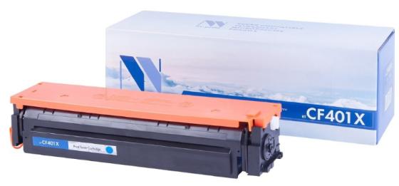 Фото - NV Print CF401XC Картридж для HP Laser Jet Pro M252dw/M252n/M274n/M277dw/M277n (2300k) Cyan тонер nv print type1 for hp m252dw m252n m277dw m277n cyan 1kg