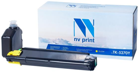 Фото - NV Print TK-5270Y Тонер-картридж для Kyocera EcoSys M6230cidn/P6230cdn/M6630cidn , Y, 6K nv print tk 1200 тонер картридж для kyocera ecosys p2335d p2335dn p2335dw m2235dn m2735dn m2835dw 3000k