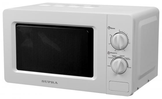 Фото - Микроволновая печь Supra 18MW26 700 Вт белый микроволновая печь supra 20sw25 белый
