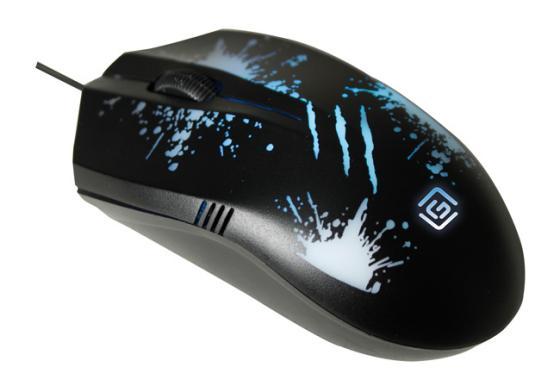 Мышь проводная Oklick 399M STIGMA чёрный USB