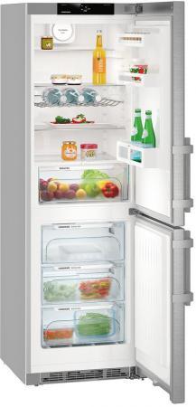 Холодильник Liebherr CNef 4335 серебристый (двухкамерный)