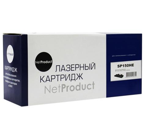 Картридж NetProduct N-SP150HE для Ricoh Aficio SP 150 Aficio SP 150w Aficio SP 150SUw Aficio SP 150SU 1500 408012