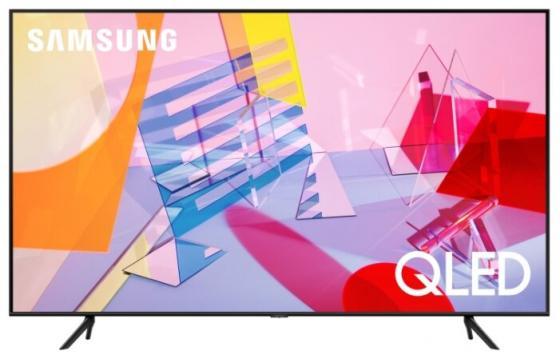 Фото - Телевизор LED 65 Samsung QE65Q60TAUXRU черный 3840x2160 100 Гц Wi-Fi Smart TV RJ-45 Bluetooth видеоняня samsung wi fi видеоняня smartcam snh c6417bn