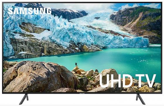 Фото - Телевизор 75 Samsung UE75TU7100UXRU черный 3840x2160 100 Гц Wi-Fi Smart TV RJ-45 USB видеоняня samsung wi fi видеоняня smartcam snh c6417bn