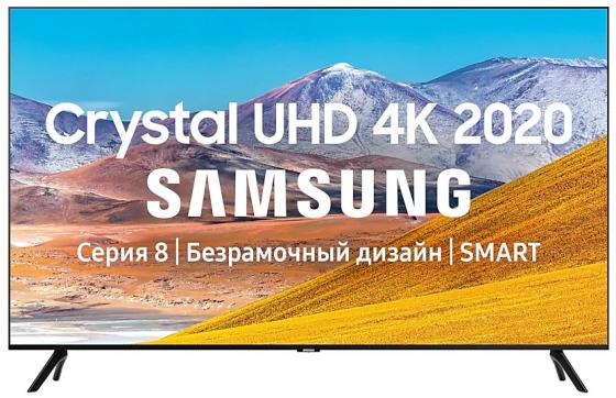 Телевизор LED 43 Samsung UE43TU8000UXRU черный 3840x2160 Wi-Fi Smart TV RJ-45 Bluetooth телевизор 43 samsung ue43tu7090u 4k uhd 3840x2160 smart tv черный