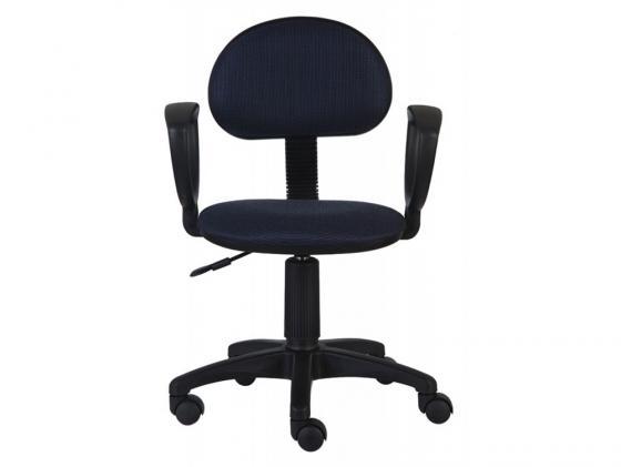 Кресло Buro CH-213AXN/BL&BLUE черно-синий 12-191 кресло для офиса бюрократ ch 213axn bl