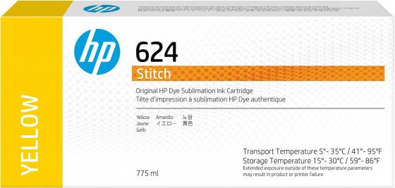 Фото - HP 624 775ml Yellow Stitch Ink Crtg hp 872 3l overcoat latex ink crtg