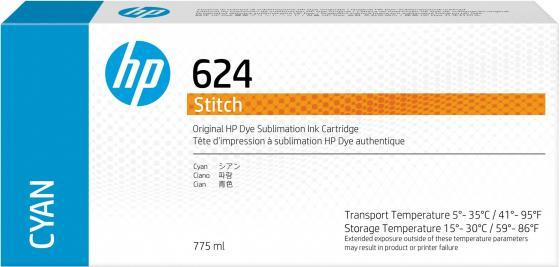 Фото - HP 624 775ml Cyan Stitch Ink Crtg hp 872 3l overcoat latex ink crtg