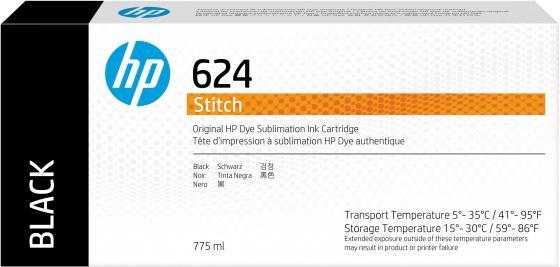 Фото - HP 624 775ml Black Stitch Ink Crtg hp 872 3l overcoat latex ink crtg