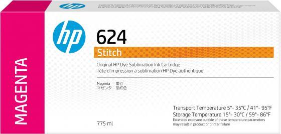 Фото - HP 624 775ml Magenta Stitch Ink Crtg hp 872 3l overcoat latex ink crtg
