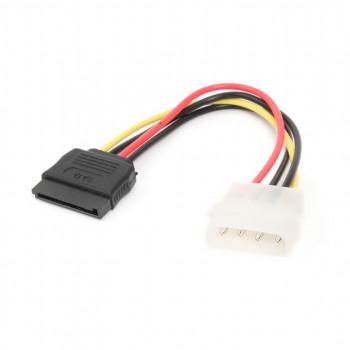 Фото - Bion Кабель питания Serial ATA - Molex, 15см [BXP-SATA-PS-15CM] кабель питания ningbo tl ata molex 8980 sata