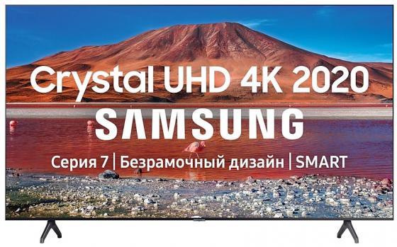 Фото - Телевизор LED Samsung 43 UE43TU7100UXRU 7 черный/Ultra HD/100Hz/DVB-T2/DVB-C/DVB-S2/USB/WiFi/Smart TV (RUS) enohplx dm98 smart watch mtk6572 2 2 inch hd ips led screen 900mah battery 512mb ram 4gb rom android 4 4 os 3g wcdma gps wifi