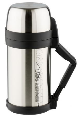 Термос Thermos FDH Stainless Steel Vacuum Flask (923653) 2л. стальной/черный термос thermos sk4000 stainless steel 0 71л