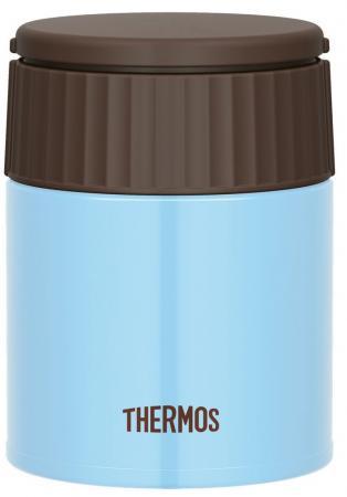 Термос Thermos JBQ-400-AQ (924698) 0.4л. голубой/коричневый термос thermos jbq 400 mlk 0 4l
