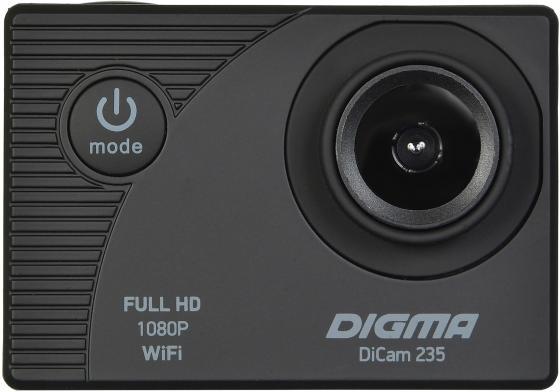 Фото - Экшн-камера Digma DiCam 235 черный цифровая фоторамка digma pf 922 9 черный [pf922bk]