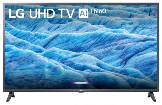 Фото - Телевизор 43 LG 43UM7020PLF черный 3840x2160 50 Гц Wi-Fi Smart TV RJ-45 телевизор led 39 yuno ulx 39tcs221 ru черный 1366x768 50 гц smart tv wi fi vga rj 45