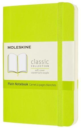 Фото - Блокнот Moleskine CLASSIC SOFT QP613C2 Pocket 90x140мм PU 192стр. нелинованный мягкая обложка лайм блокнот moleskine classic mm710p14 pocket 90x140мм 192стр линейка твердая обложка коричневый