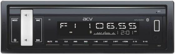 Автомагнитола ACV AVS-914BW 1DIN 4x50Вт