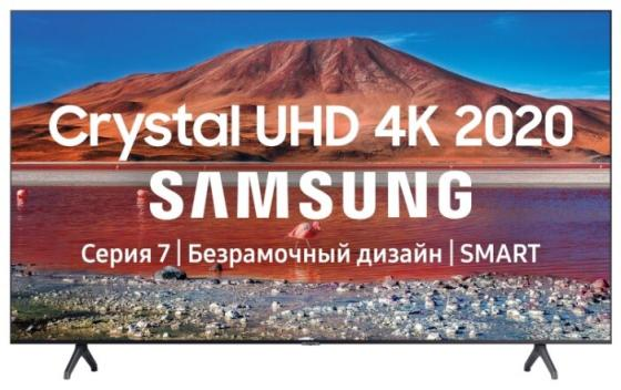 Фото - Телевизор LED 70 Samsung UE70TU7100UXRU черный 3840x2160 100 Гц Wi-Fi Smart TV USB RJ-45 Bluetooth телевизор 55 samsung ue55tu7100uxru черный 3840x2160 100 гц smart tv wi fi rj 45