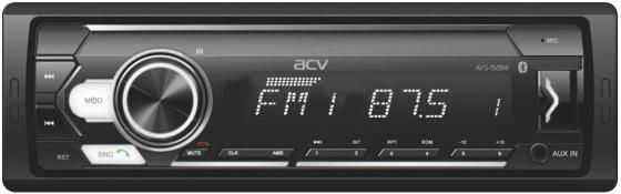 Фото - Автомагнитола ACV AVS-912BW 1DIN 4x50Вт автомагнитола acv avs 812r 1din 4x50вт
