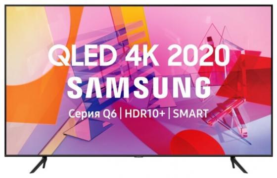 Фото - Телевизор LED 75 Samsung QE75Q60TAUXRU черный 3840x2160 100 Гц Wi-Fi Smart TV RJ-45 Bluetooth телевизор led 43 sony kdl43wf804br черный серебристый 1920x1080 50 гц smart tv wi fi rj 45 bluetooth
