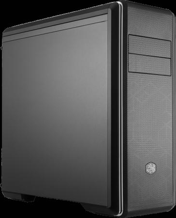 Cooler Master MasterBox CM694, 2xUSB3.0, 1xUSB3.1 Type-C, 3x120 Fan, w/o PSU, w/o TG, Black, Full ATX cooler master masterbox mb511 2xusb3 0 1x120 fan w o psu black red trim mesh front panel atx